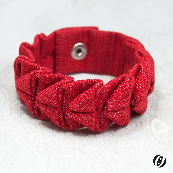 Armband|Rot|Dunkel